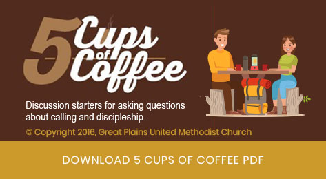 AIM Adventures In Ministries 5 cups of coffee